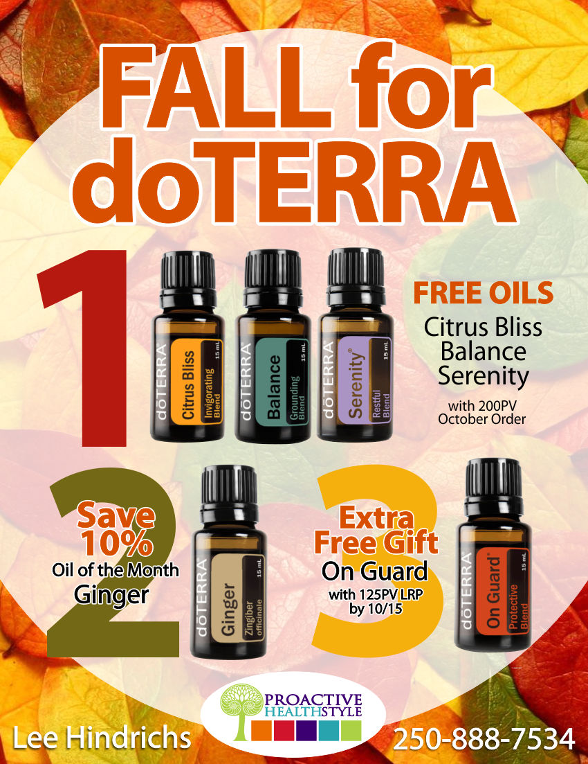 Fall for DoTerra